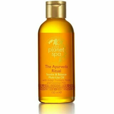 Planet Spa The Ayurveda Ritual Soothe & Balance Multi-Use Oil - 150ml