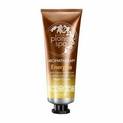 Aromatherapy Energise Hand Cream - Bergamot & Lemon - 30ml