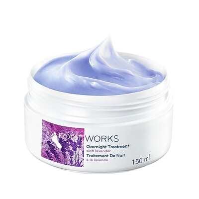 Overnight Foot Treatment Cream with Lavender - 150ml