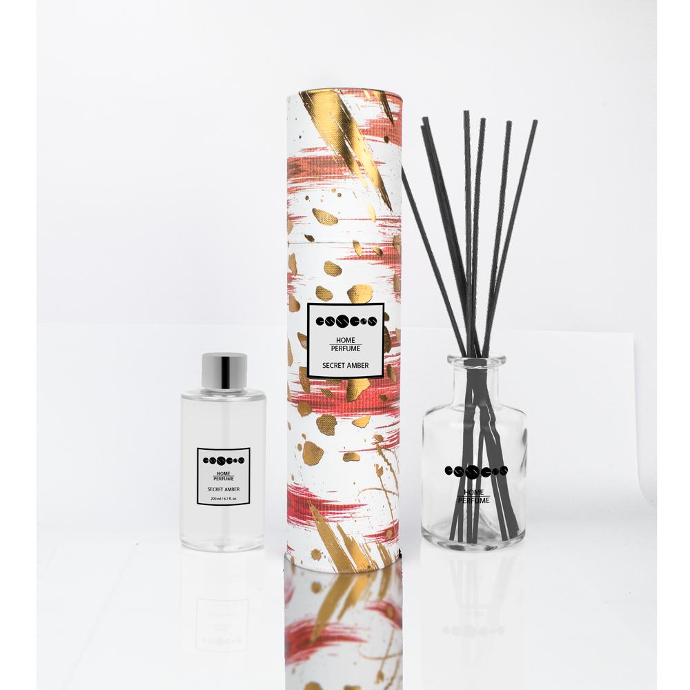 Home Perfume Secret Amber - set