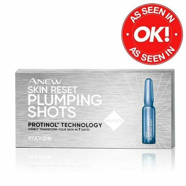 Anew Skin Reset Plumping Shots