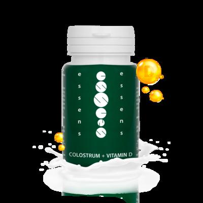Colostrum + Vitamin D 60 capsules