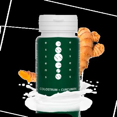 Colostrum + Curcumin 60 capsules