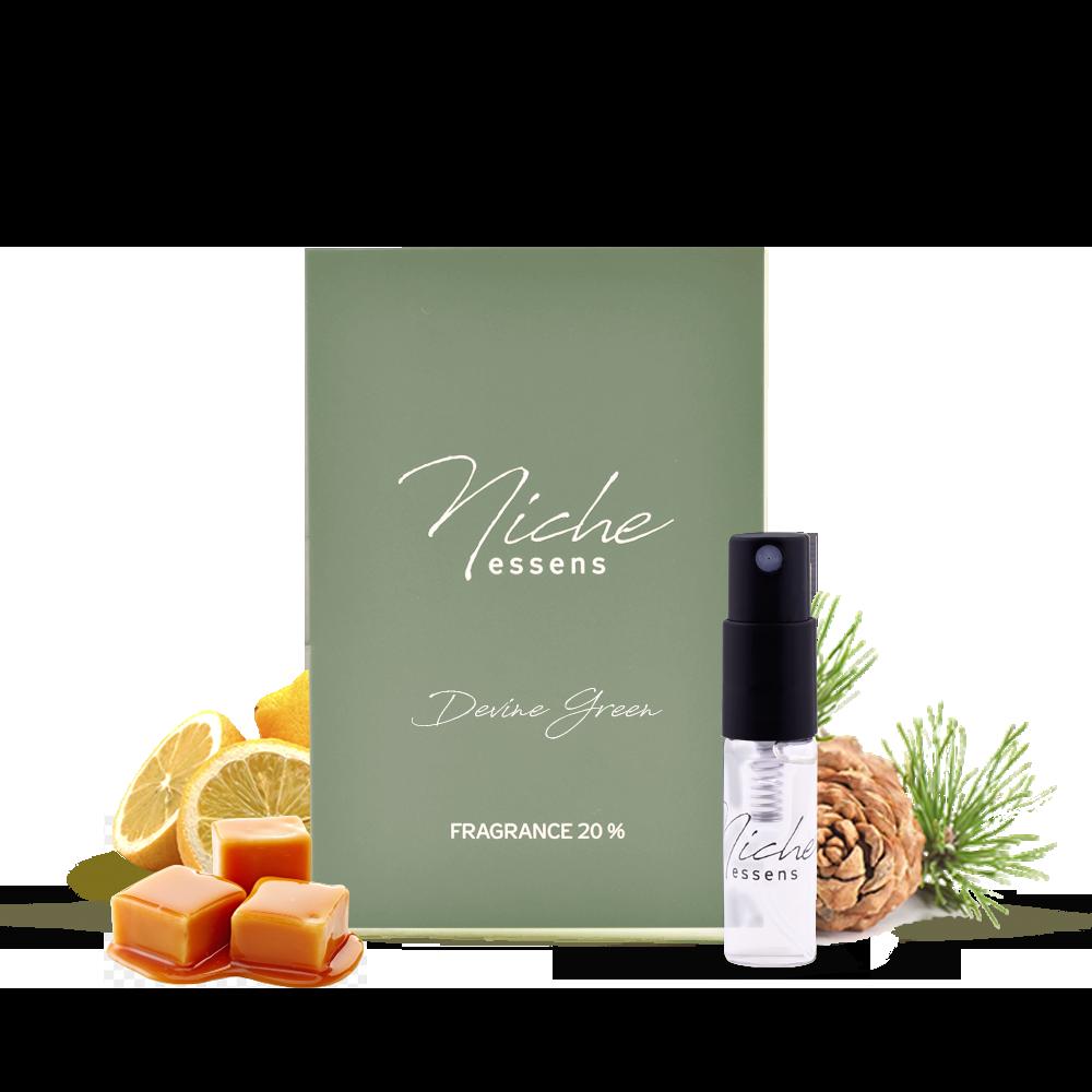 Niche Perfume Sample - Divine Green