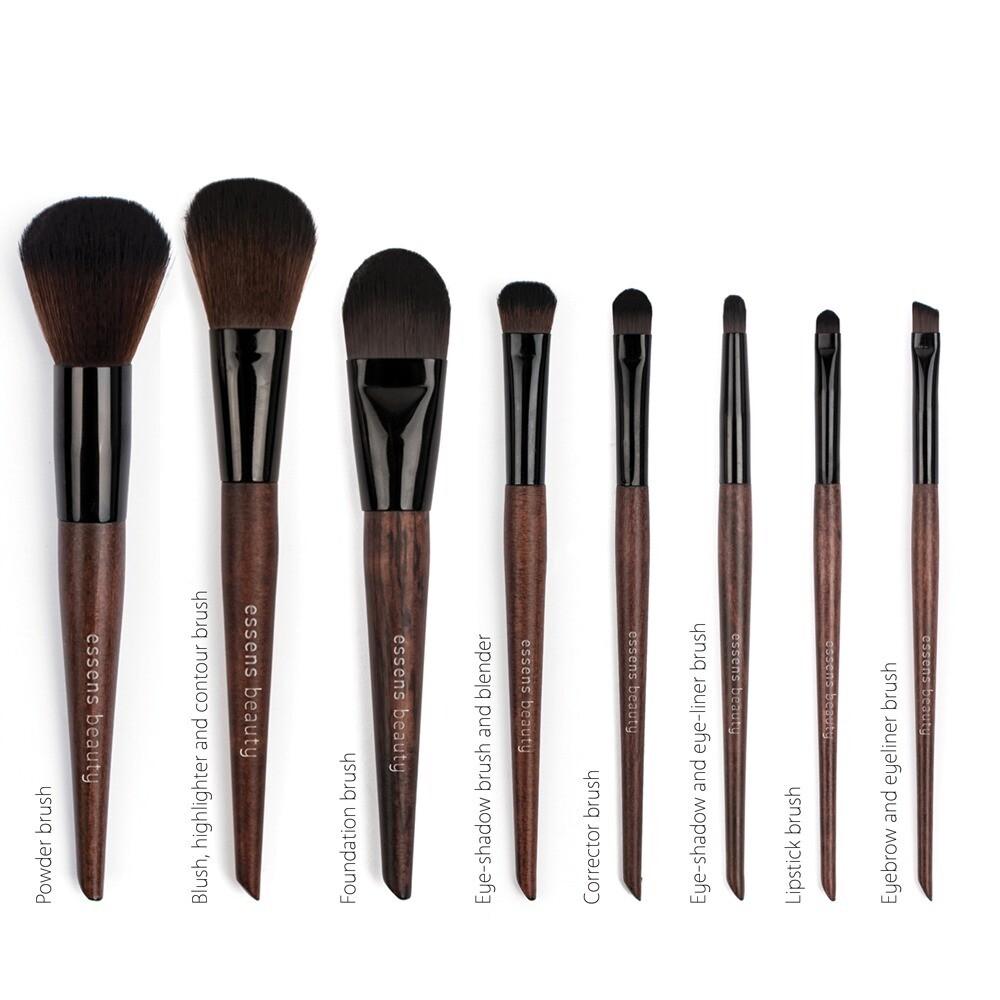 Cosmetic Brush Set 8 pcs.