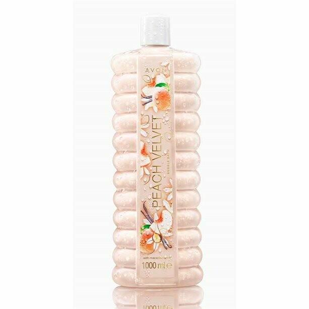 Peach Velvet Bubble Bath - 1 litre