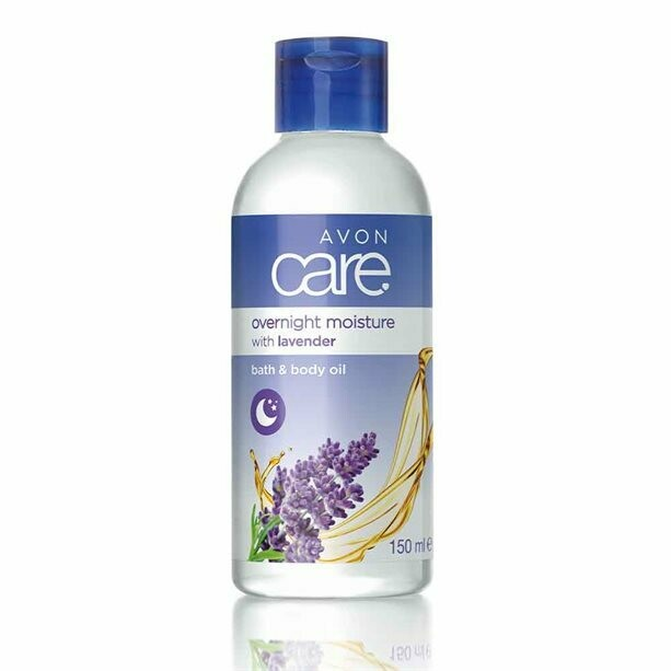 Lavender Overnight Moisture Bath & Body Oil - 150ml