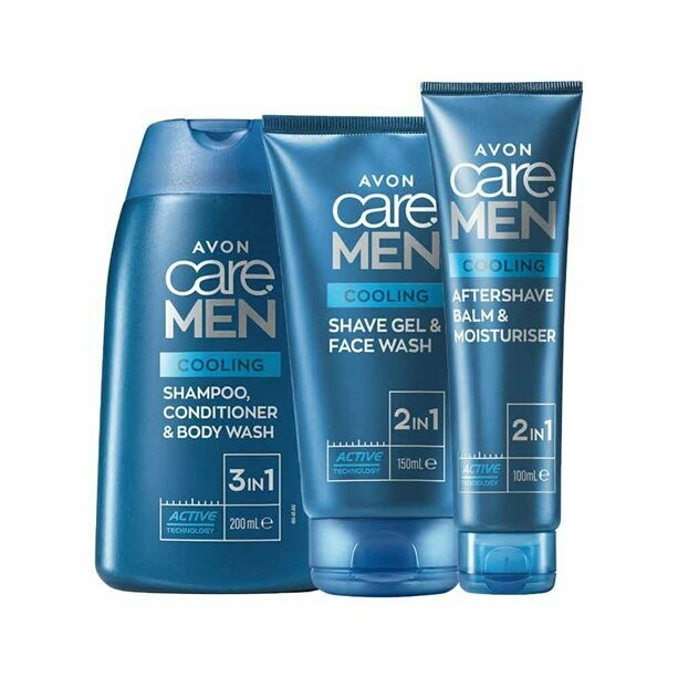 Cooling Shower & Shave Collection