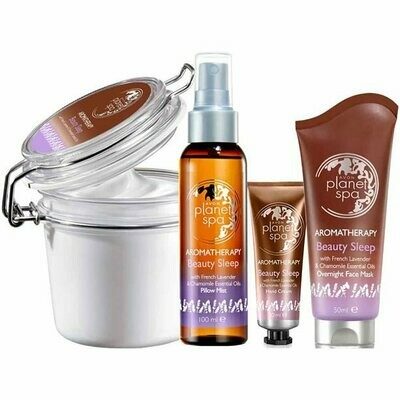 Aromatherapy Lavender & Chamomile Beauty Sleep Pamper Set