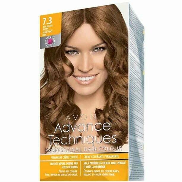 Permanent Hair Dye - Deep Golden Blonde 7.3