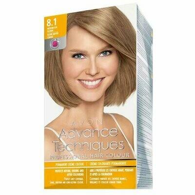 Permanent Hair Dye - Medium Ash Blonde 8.1