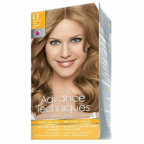 Permanent Hair Dye - Light Golden Blonde 8.3