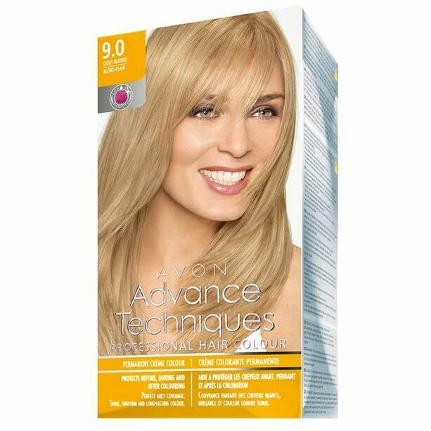 Permanent Hair Dye - Light Blonde 9.0