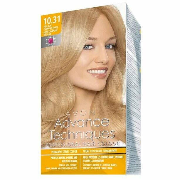 Permanent Hair Dye - Very Light Champagne Blonde 10.31