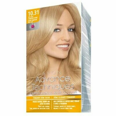 Permanent Hair Dye - Very Light Champagne Blonde 10.31
