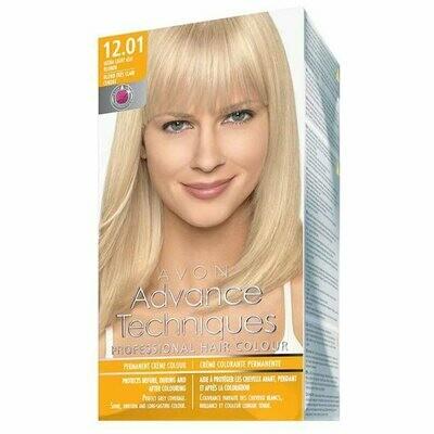Permanent Hair Dye - Ultra Light Ash Blonde 12.01