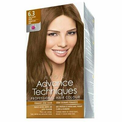 Permanent Hair Dye - Light Golden Brown 6.3