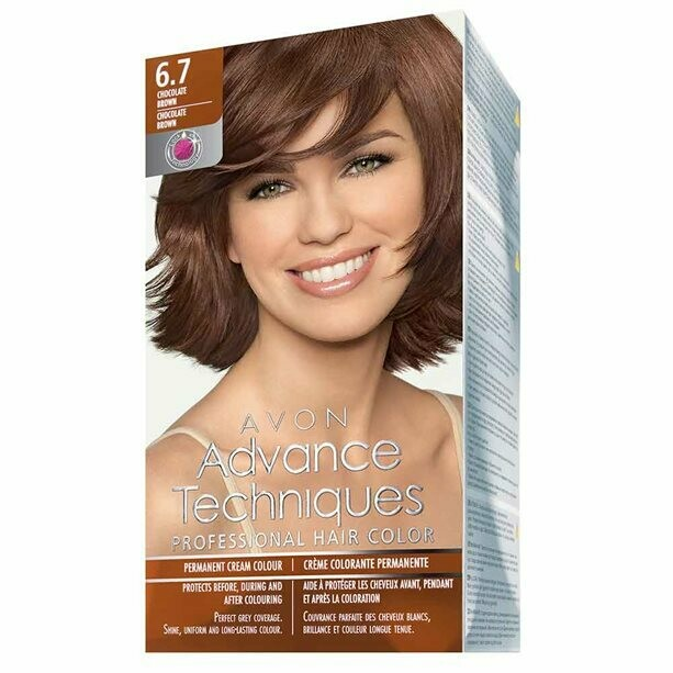 Permanent Hair Dye - Chocolate Brown 6.7