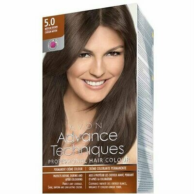 Permanent Hair Dye - Medium Brown 5.0