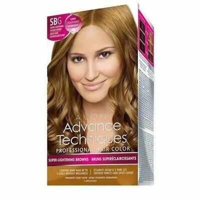Permanent Hair Dye - High Lift Golden Brown