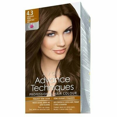Permanent Hair Dye - Dark Golden Brown 4.3