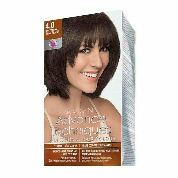 Permanent Hair Dye - Dark Brown 4.0