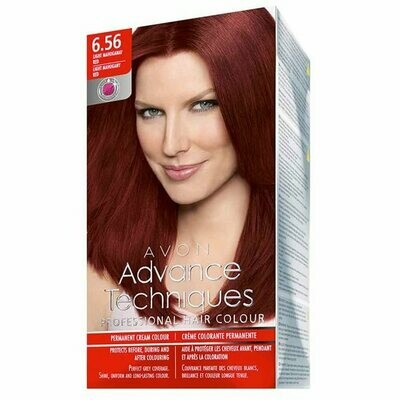 Permanent Hair Dye - Light Mahogany Red 6.56