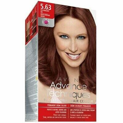 Permanent Hair Dye - Rich Burgundy Red 5.63