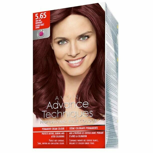 Permanent Hair Dye - Deep Mahogany Red 5.65