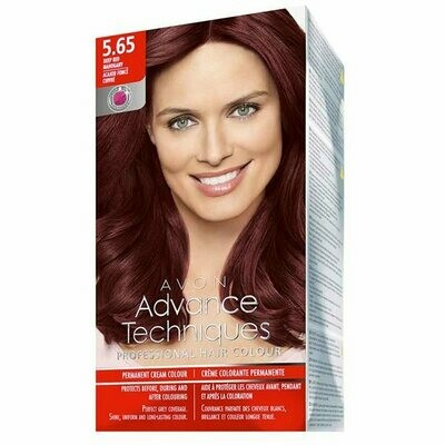 Permanent Hair Dye - Deep Mahogany Red 5.65