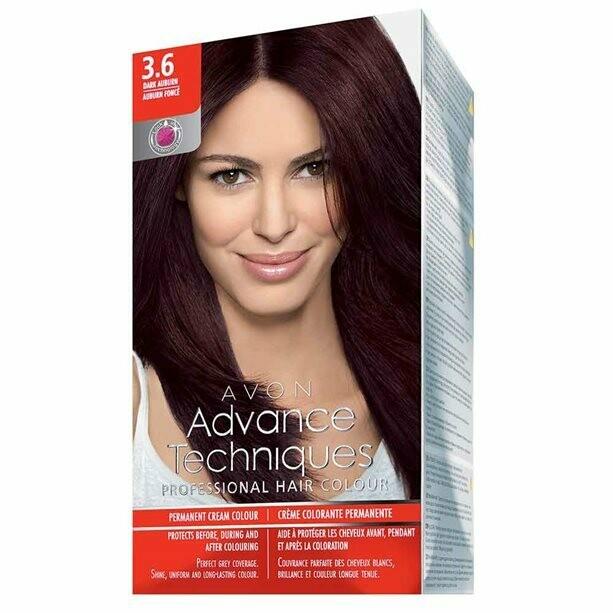 Permanent Hair Dye - Dark Auburn 3.6