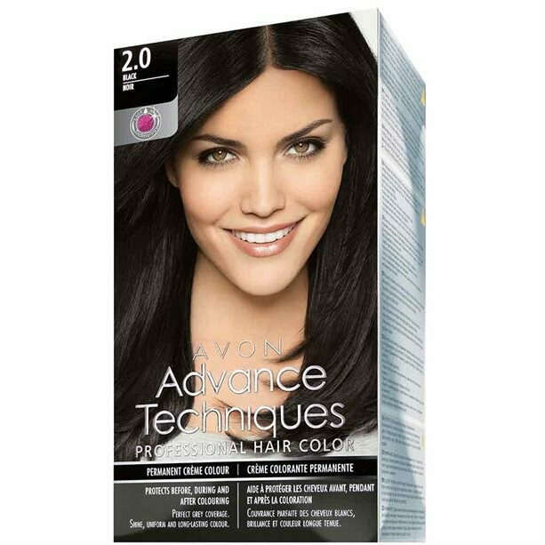 Permanent Hair Dye - Natural Black 2.0