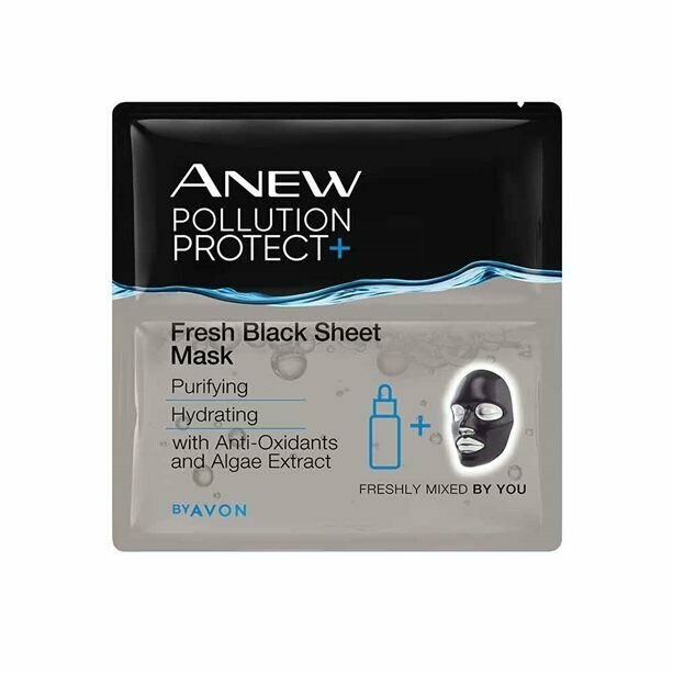Anew Pollution Protect Fresh Black Sheet Mask
