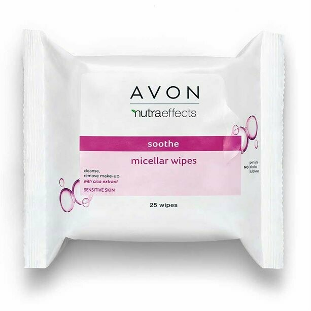 Nutra Effects Soothing Micellar Wipes