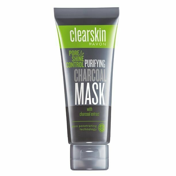 Clearskin Charcoal Face Mask with Shine Control - 75ml