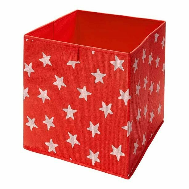 Red Star Cube Storage
