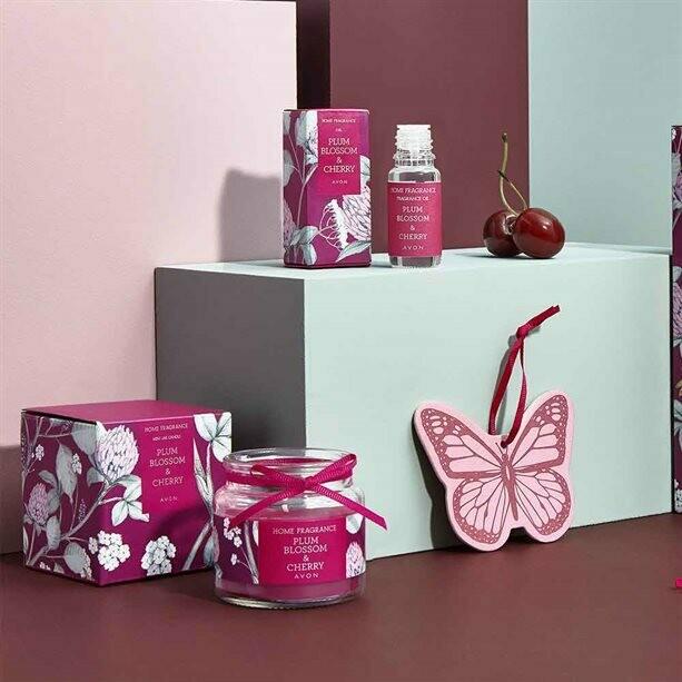 Plum Blossom & Cherry Hanging Fresheners