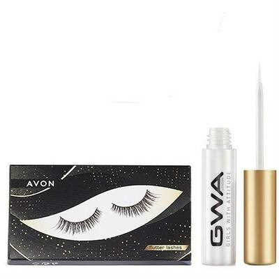 Flutter False Lashes & GWA Lash Glue