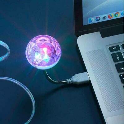 Disco Light-Up USB