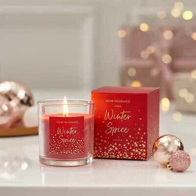 Winter Spice Scented Glass Candle - 300g