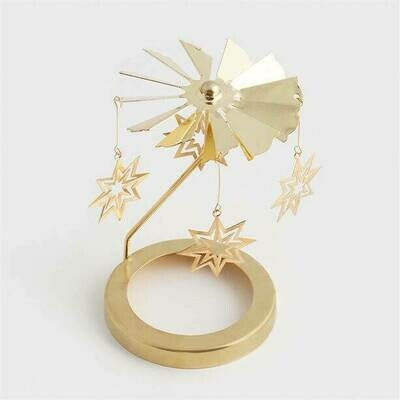 Star Candle Spinning Topper