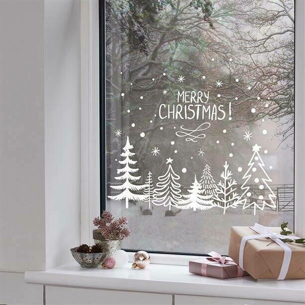 Set of 3 Easy Peel Window Decals