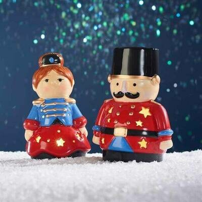 Nutcracker LED Tealight