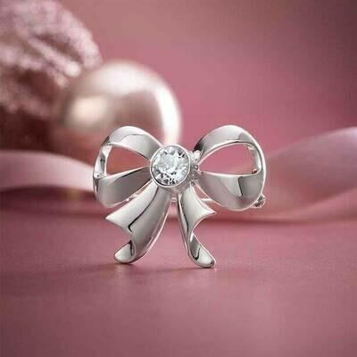 Brooch with Swarovski® Crystals