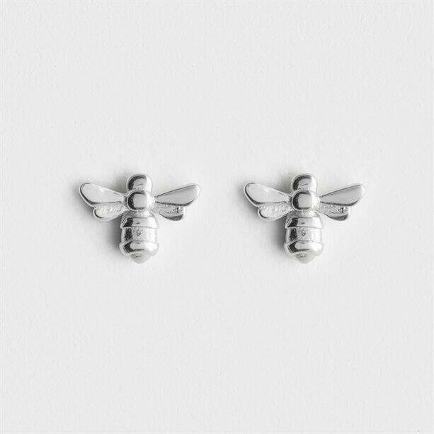 Sterling Silver-plated Leighton Earrings - Bee