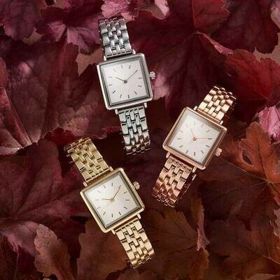 Square Matte Bracelet Style Watch - 2 Year Warranty