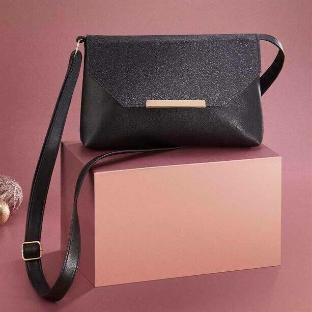 Glitter Cross-Body Bag