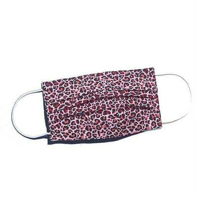 Leopard Print Reusable Fashion Face Mask