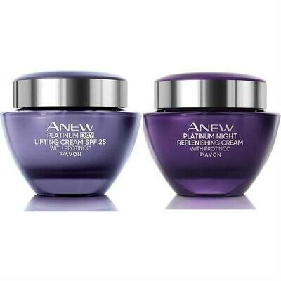 Anew Platinum Day to Night Skincare Set