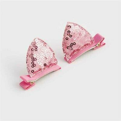Set of 2 Cat-Ear Clips